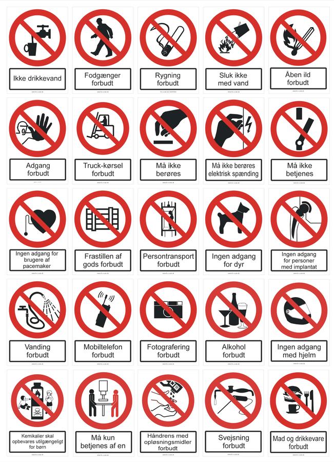 Forbudskilte