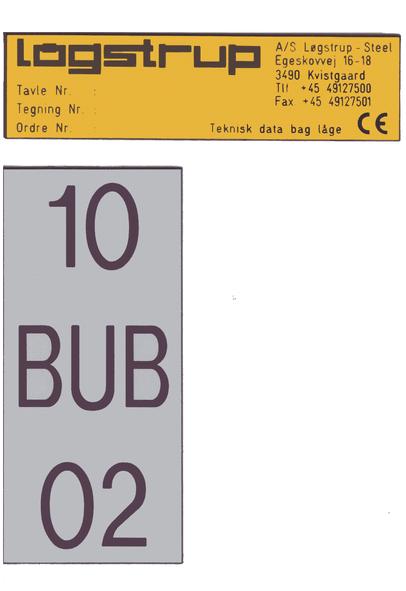 Resopal skilte