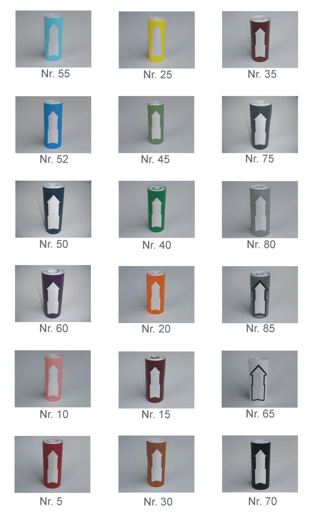 Rørmærkning Standard 160 mm