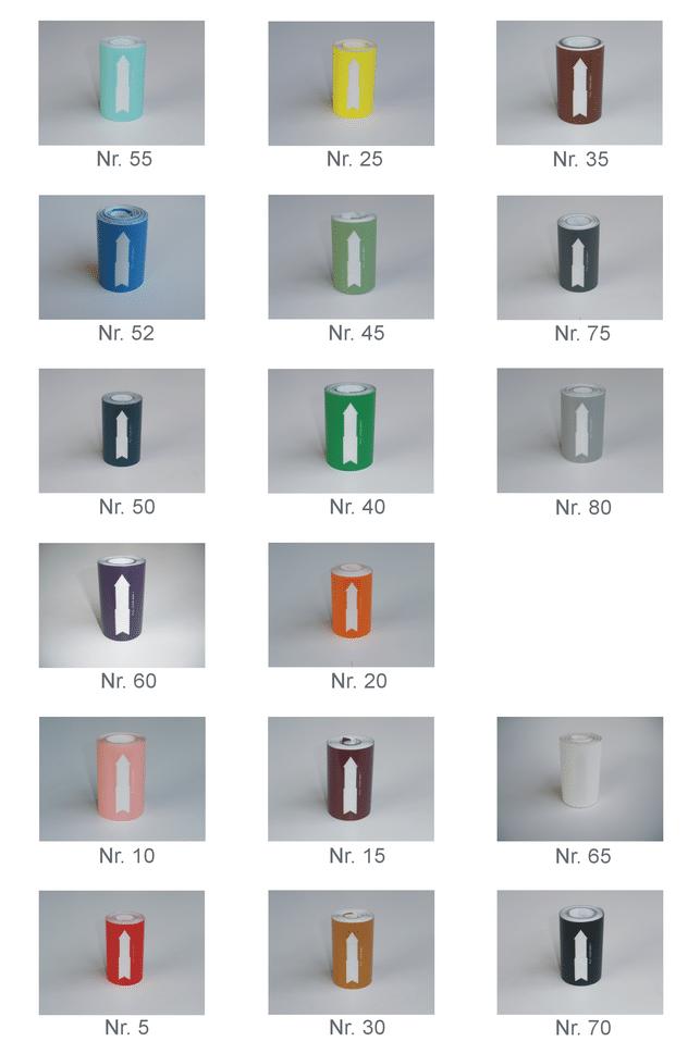 Rørmærkning Standard 80 mm